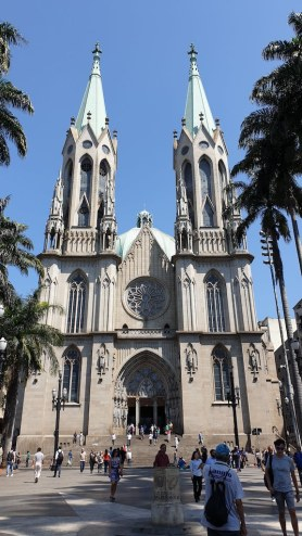 Cathédrale métropolitaine de Sao Paulo