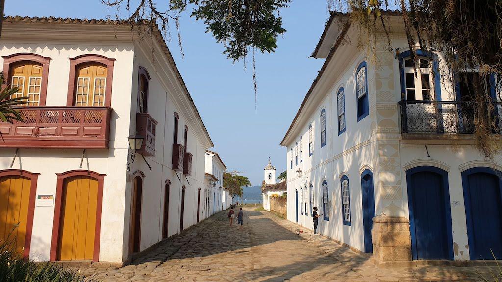 maisons coloniales de Paraty