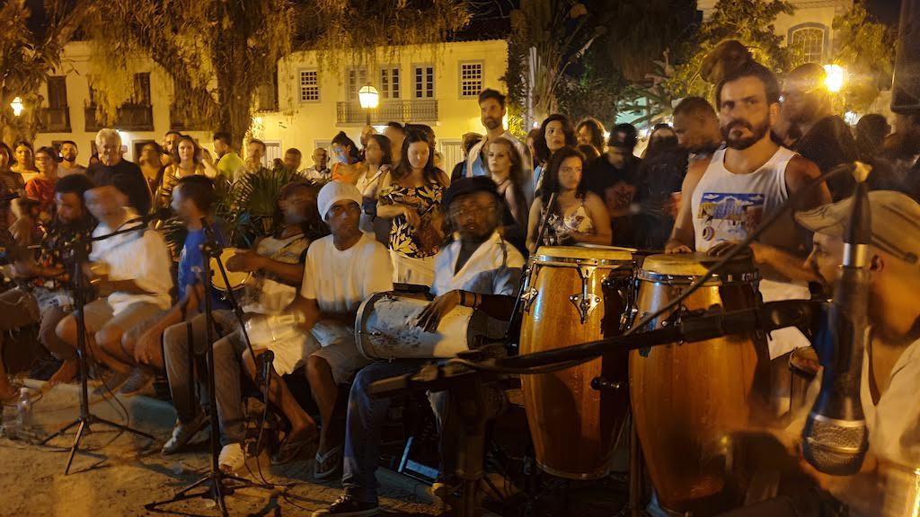 Concert de samba Paraty