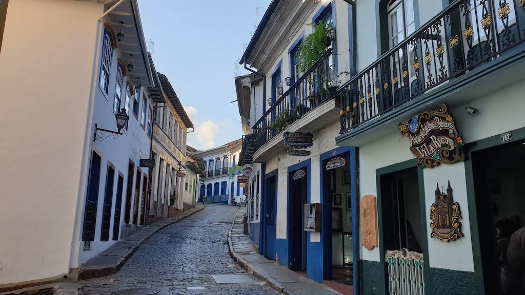maisons coloniales Ouro Preto