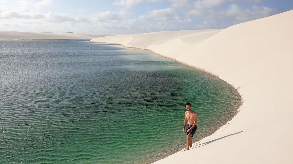 lagoa Bonita Lençois Maranhenses