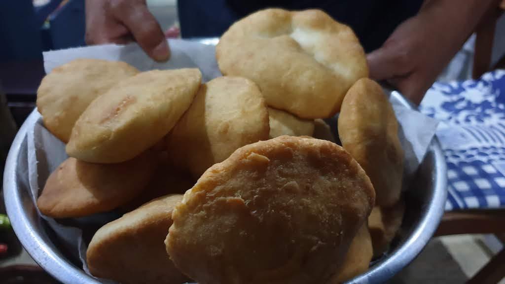 Tortas fritas Cabo Polonio