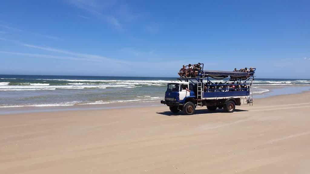 camion aménagé Cabo Polonio