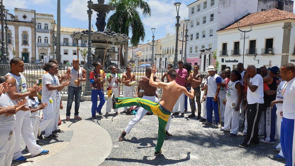 capoeira Salvador de bahia