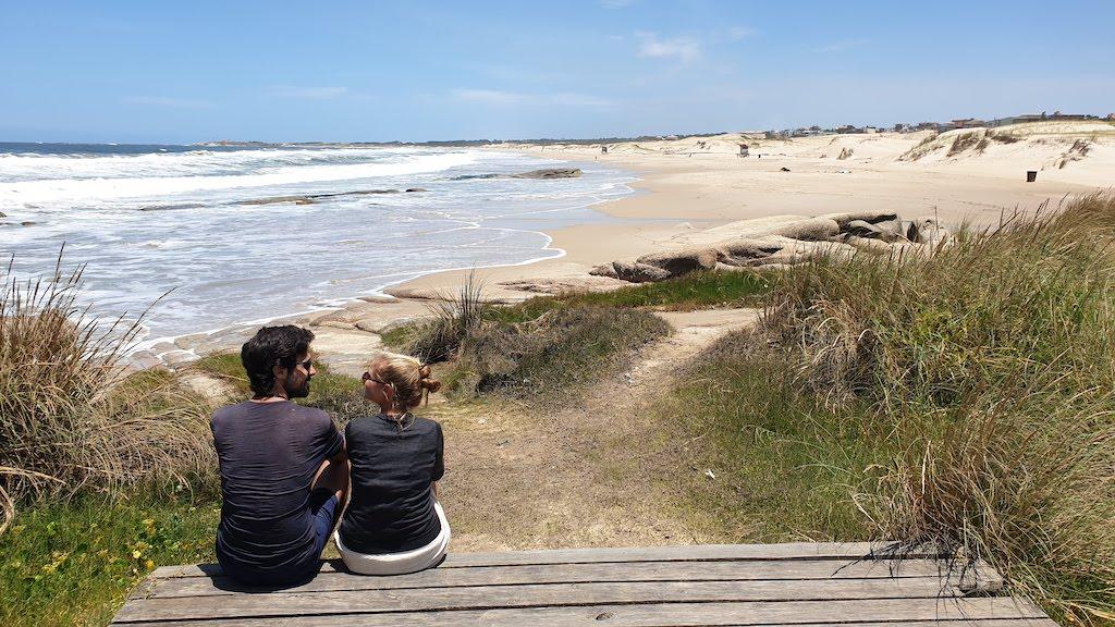La Viuda Beach à Punta del diablo en uruguay
