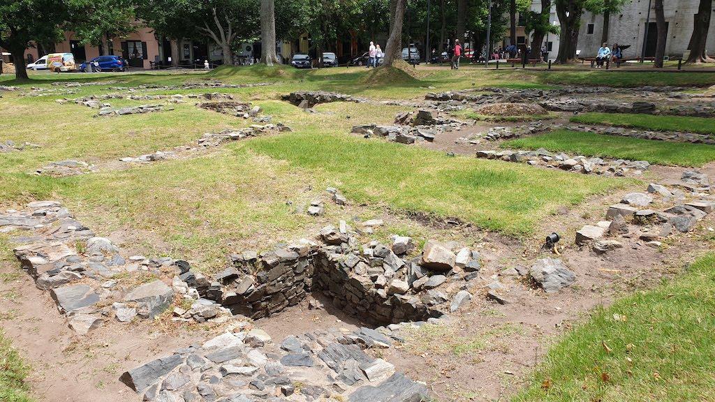 Rescate Arqueológico de la Casa del Gobernador à Colonia del sacramento