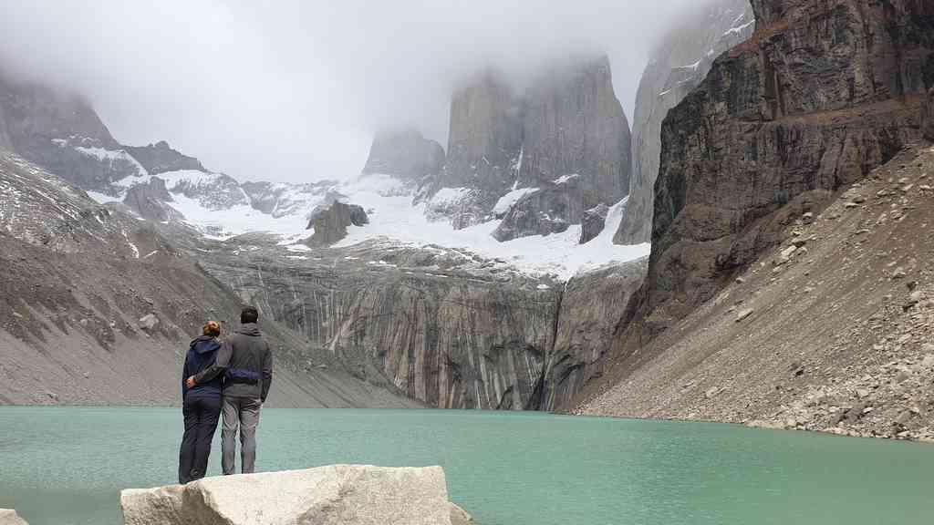 Mirador Base las Torres Torres del Paine