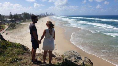 vue sur gold coast en australie