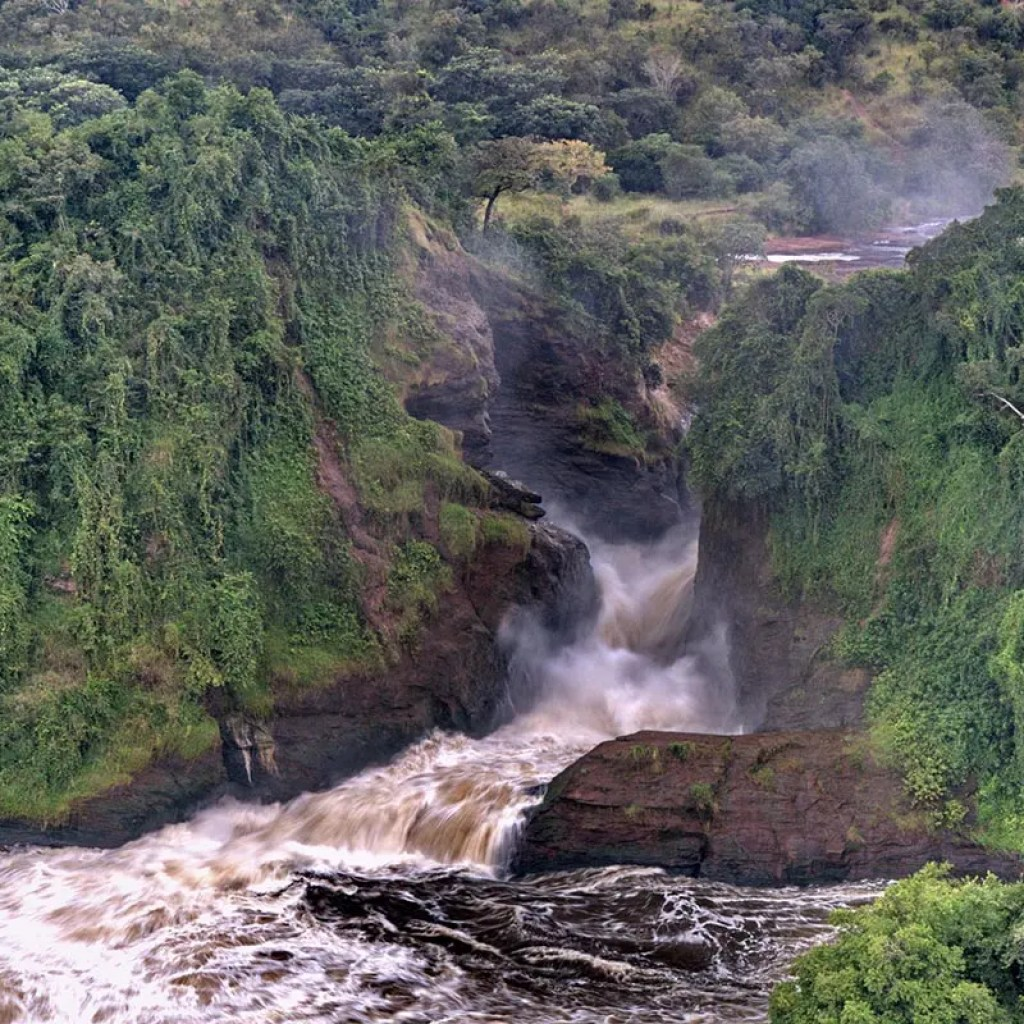 Murchison Falls, Geography and Climate of Uganda
