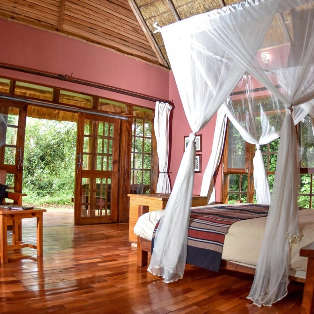 My room at Primate Lodge Kibale: My Uganda Safari Experience