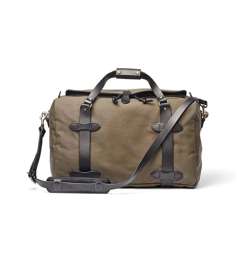 Filson Medium Rugged Twill Duffel Bag on your Packing List for Uganda Trip