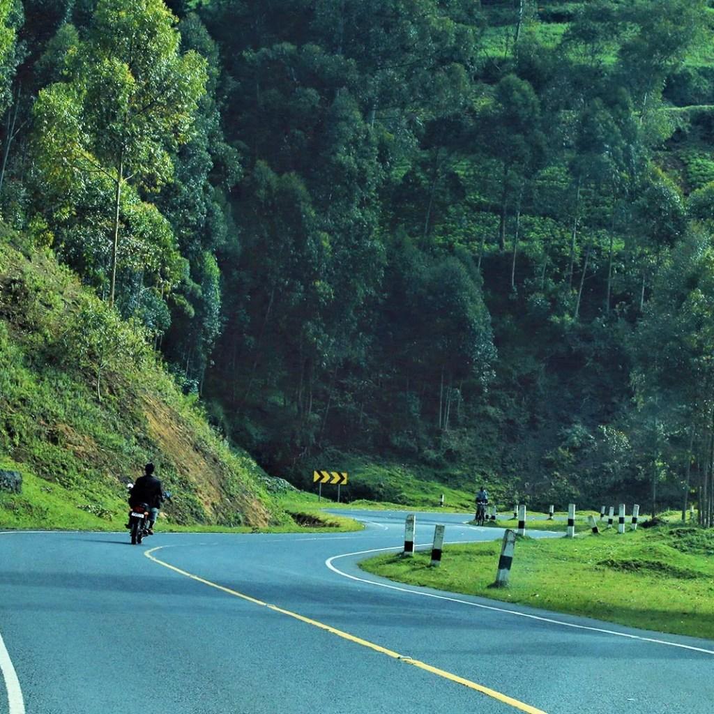 My Uganda safari experience Kabel Winding Road to Bwind