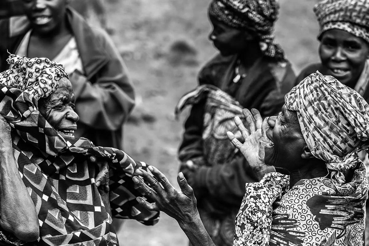 Uganda cultures, greeting, dressing