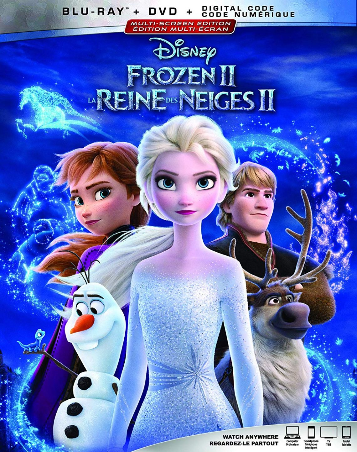 Christophe Reine Des Neiges : christophe, reine, neiges, Frozen, [Blu-ray, Digital], Destination