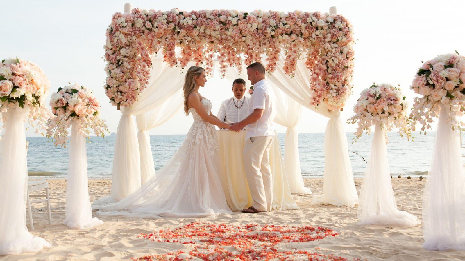 a dream beach elopement