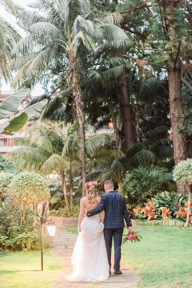 Sunset Tropical Hotel Photos de mariage