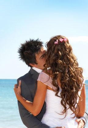 best beach wedding hairstyles destination wedding details