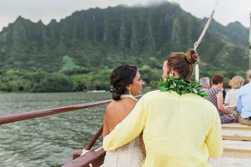 destination wedding private oahu beach 2016