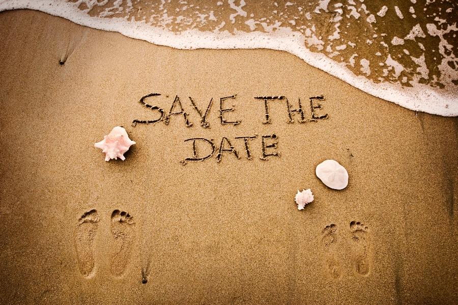 destination wedding save the