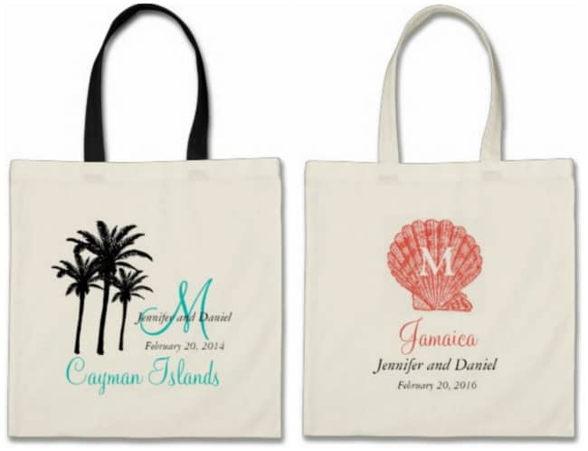 Welcome Bags Cabo Wedding