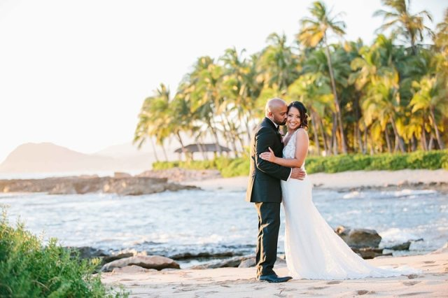 photos de mariage oahu quatre saisons 0015