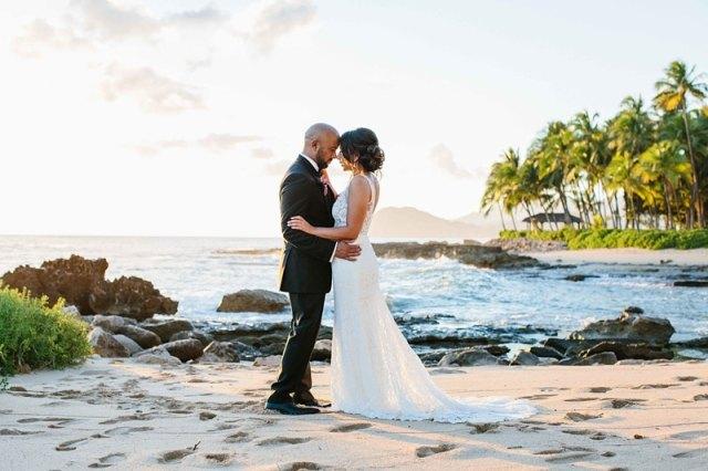photos de mariage oahu quatre saisons 0028