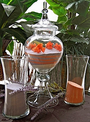 Vicotorian Sand Ceremony Vase