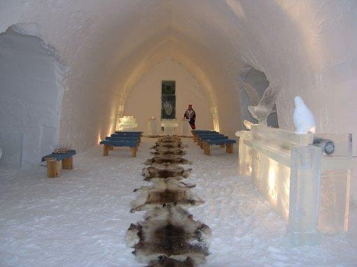 Kakslauttanen the Perfect Backdrop For White Wedding