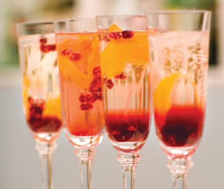 Elegant Cocktail from Canadian House and Home
