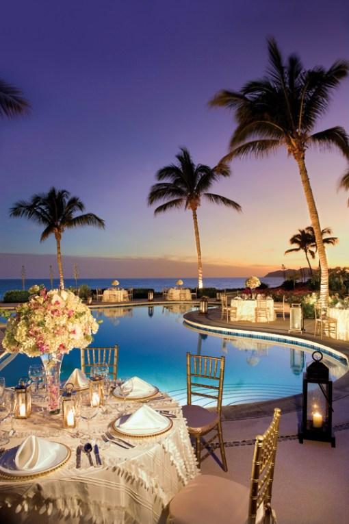 Wedding Set-up Zoetry Casa del Mar