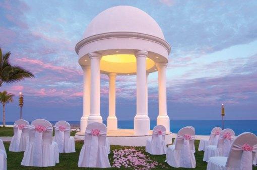 Imagine Your Wedding in This Elegant Gazebo