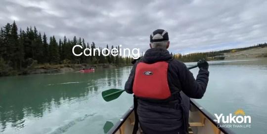 Whitehorse – Canoeing