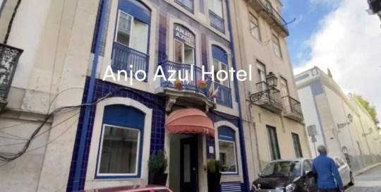 Lisbon – Hotel Anjo Azul