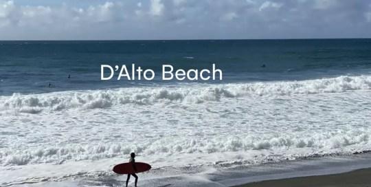 Azores – D'Alto Beach