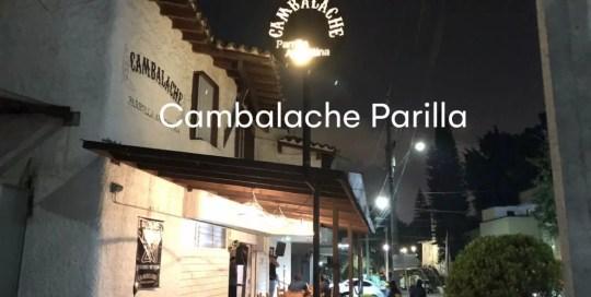 Medellin – Cambalache Parilla Argentina