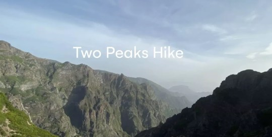 Madeira – Two Peaks hike