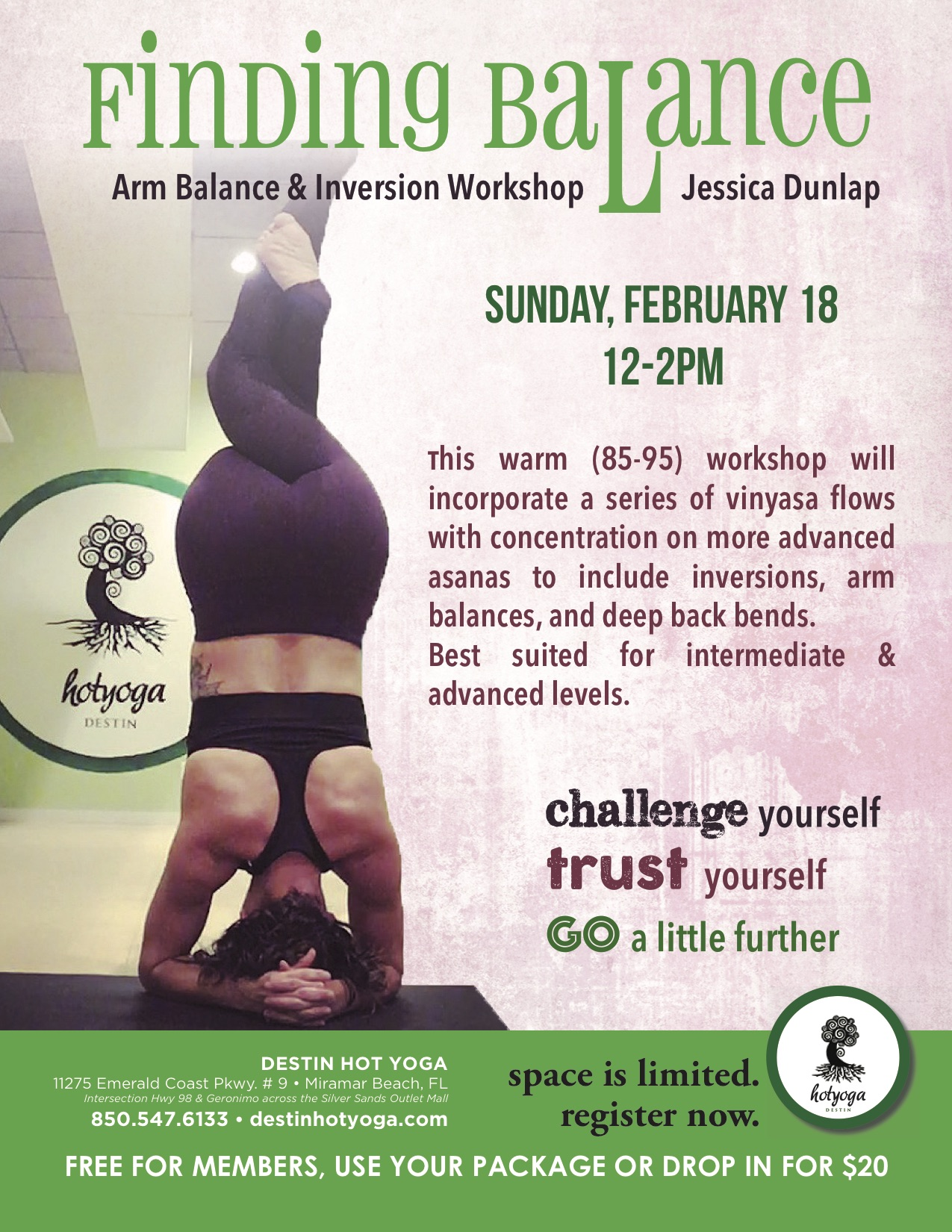 Arm Balance Amp Inversion Workshop Is This Sunday