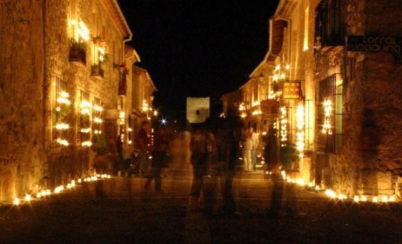 La magia del concierto de las velas de Pedraza - Imagen de RVeDPress