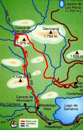 Ruta de senderismo a - Imagen de Turismo Sanabria