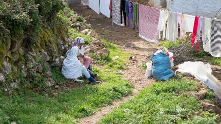 khizana rio paisaje naturaleza chaouen marruecos montañas