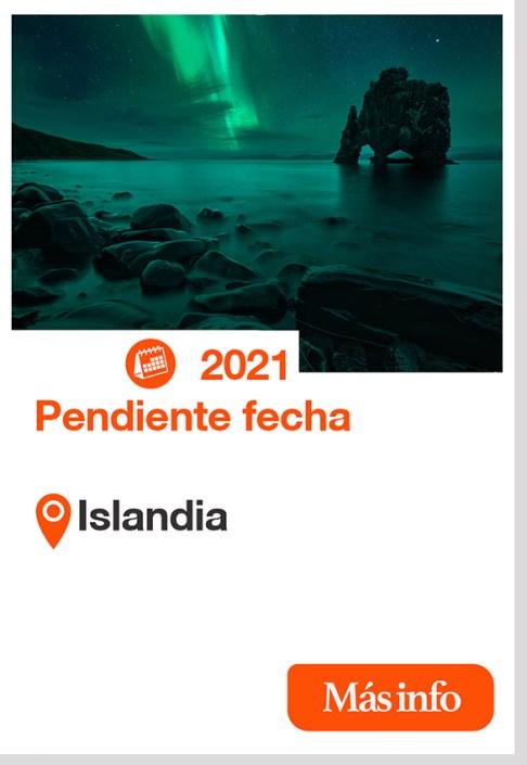 2021 islandia cartel taller fotografia viaje fotografico auroraboreal