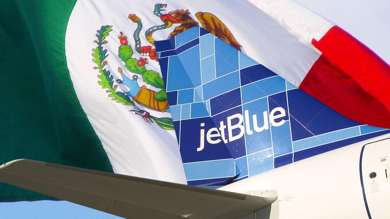 JetBlue anuncia ruta hacia Ciudad México