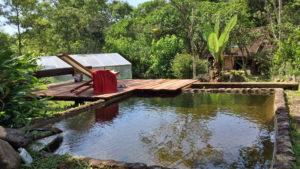Propiedad rústica con piscina en Río de Janeiro, Brasil disponible en Airbnb
