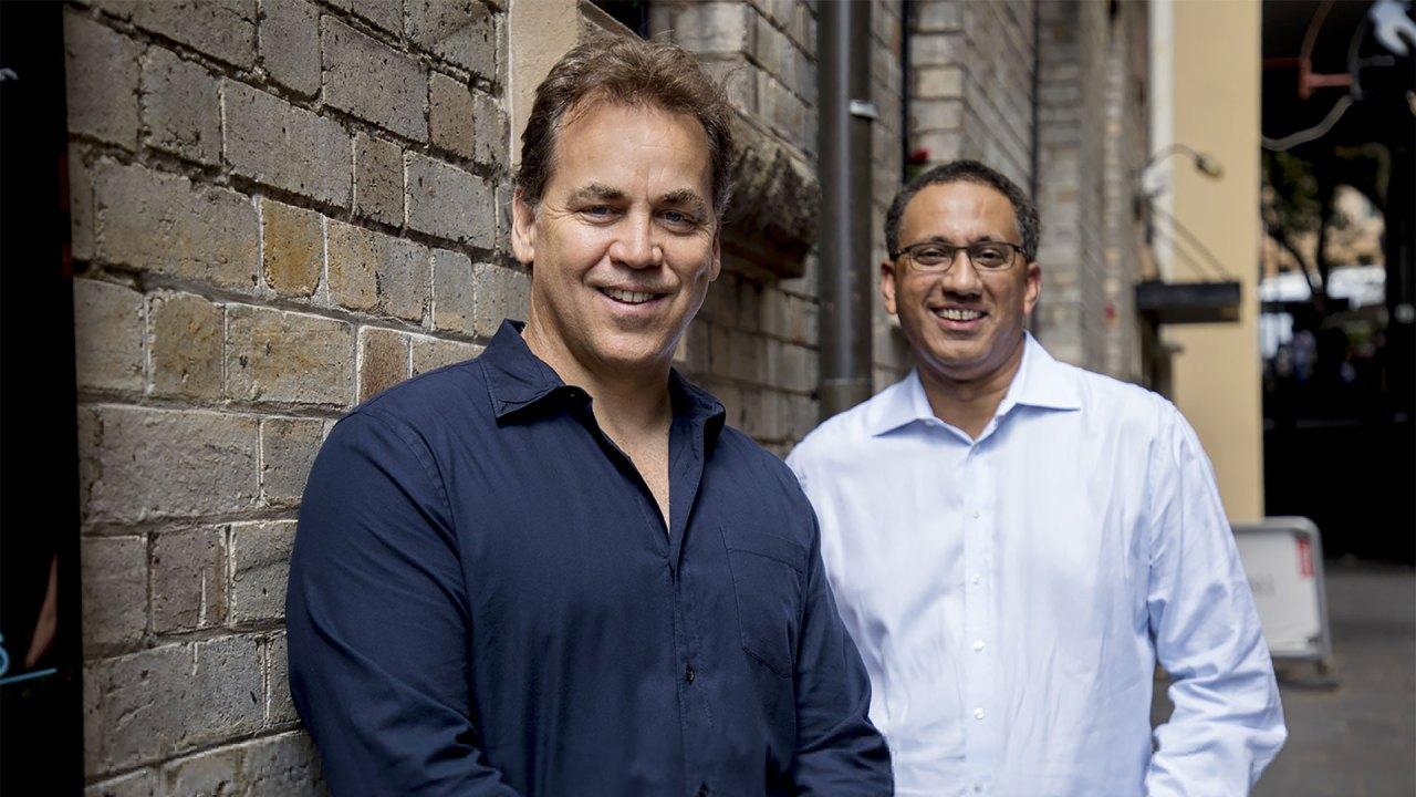 Mike Ford y Sankar Narayan de SiteMinder