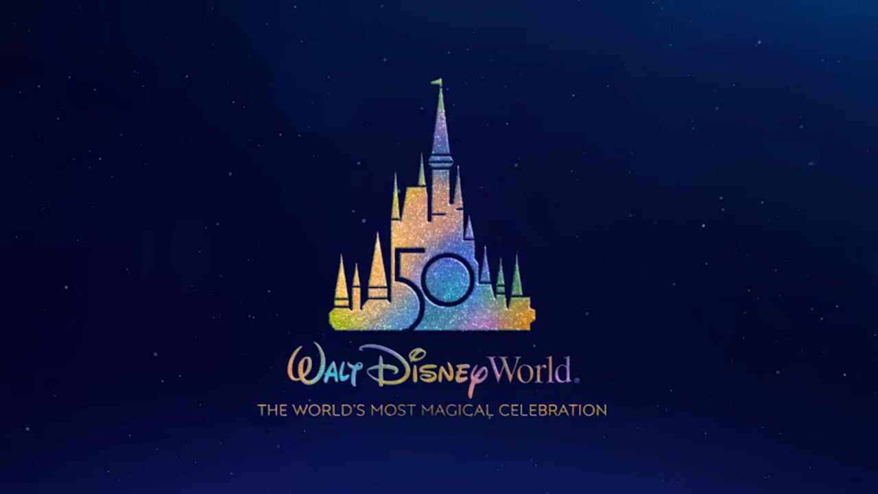 Logo del 50 aniversario de Walt Disney World (Foto: Disney)