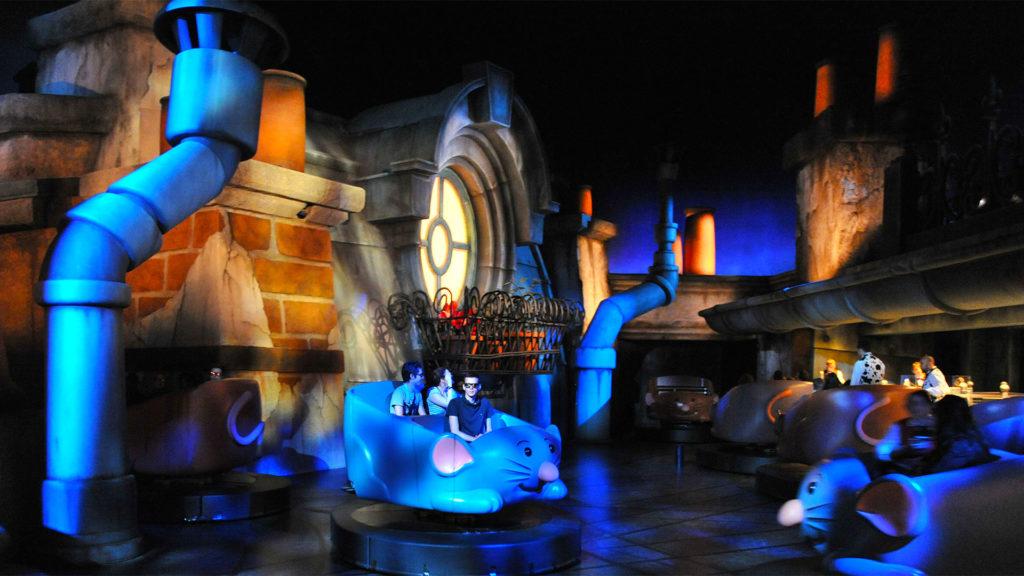 La atrqacción Remy's Ratatouille Adventure de Disney Hollywood Studios en Disneyland París (Foto: Disney)