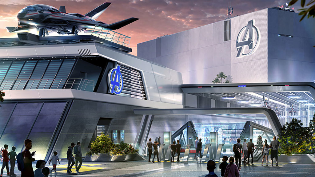 La sección Avengers Campus en Disney California Adventure (Foto: Disney)