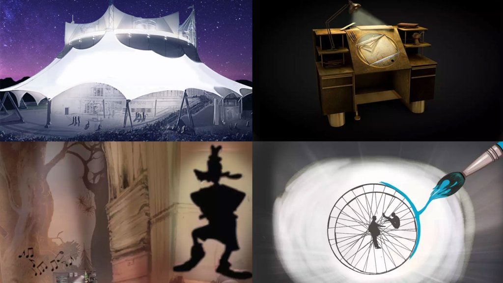 Arte conceptual del espectáculo de Cirque du Soleil para Walt Disney World (Foto: Disney/Cirque du Soleil)