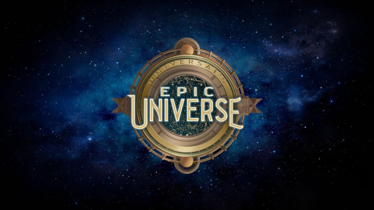 Logo del nuevo del parque temático Universal's Epic Universe en Orlando (Foto: Universal Studios)