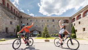 """Además de ser hotel """"Baby Lovers"""", el Barceló Monasterio de Boltaña dispone de bicicletas para sus huéspedes (Foto: Barceló Hotels & Resorts)"""